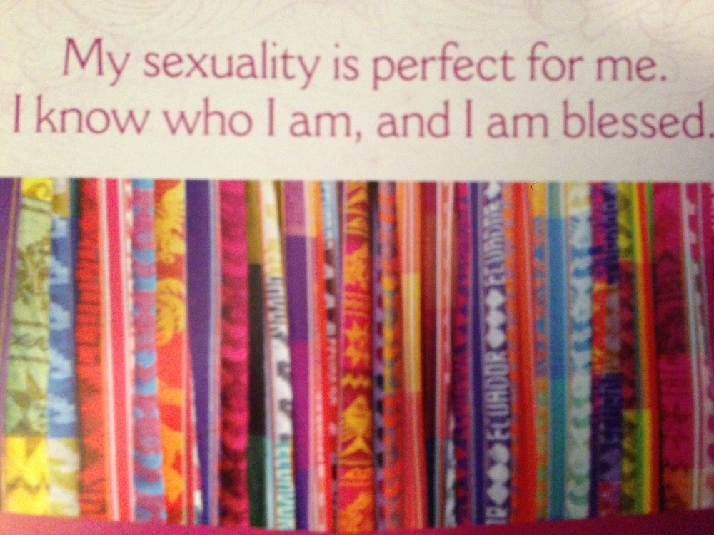 From Louise Hay's 2014 'I Can Do It' calendar.