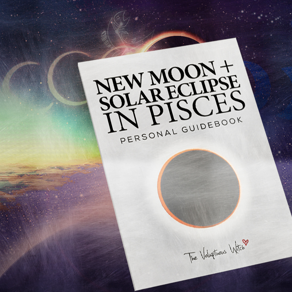New Moon + Solar Eclipse in Pisces Personal Guidebook
