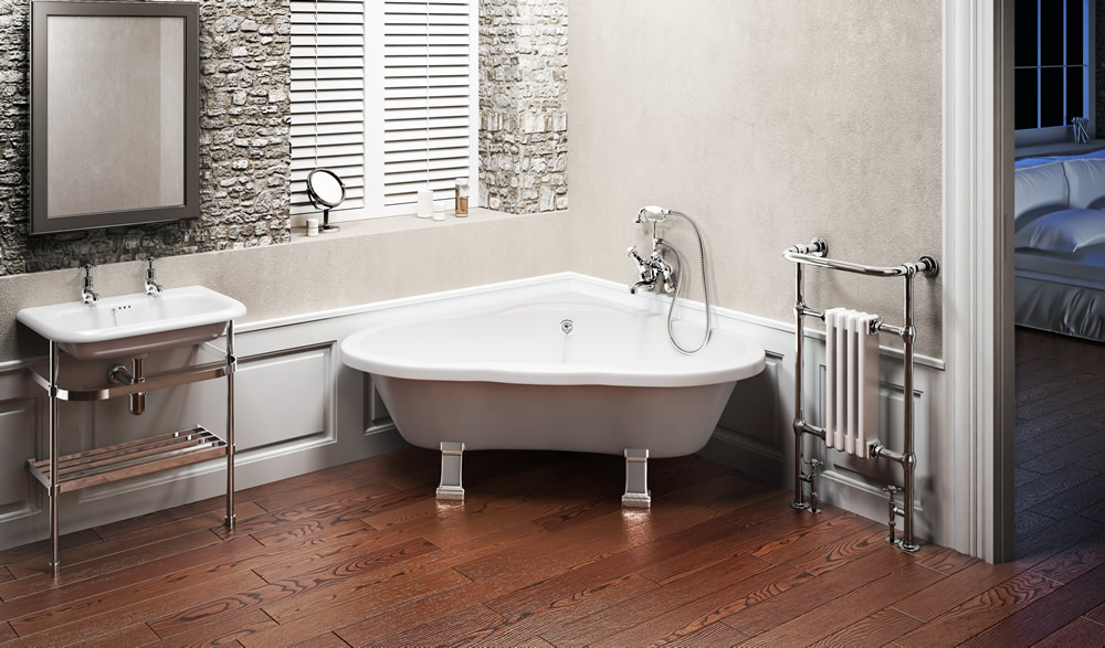 Surround the Burlington Heart Shaped Bath with candles creating a bathroom that oozes romance...Ref; Burlington Heart Freestanding Bath   Finishes:     T11F White; E9 CHR Chrome   Product Type:     Traditional   Material:     T11F TSFR; E9 CHR LM25 Aluminum   Tap holes:     0,1,2 (supplied un-drilled)   Size:    1330 x 1630 x 585 mm    Weight:     45 kg