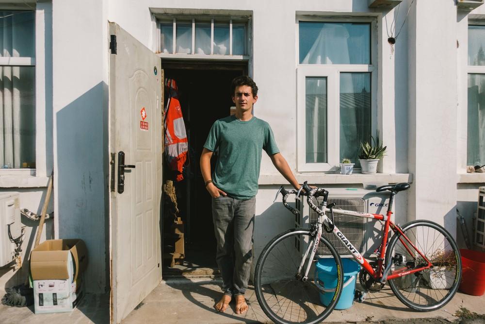 The morning I left Beijing