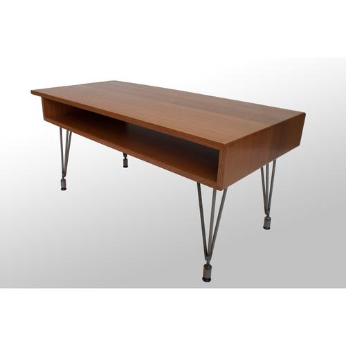 the irving coffee table: sapele — grain control | mid-century