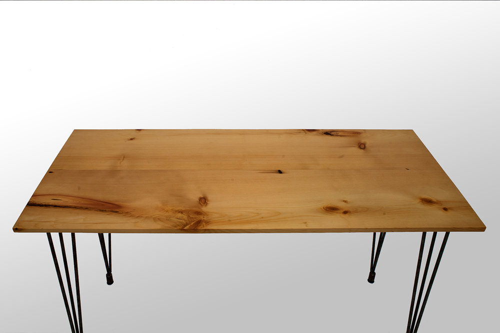 Reclaimed White Pine Desk
