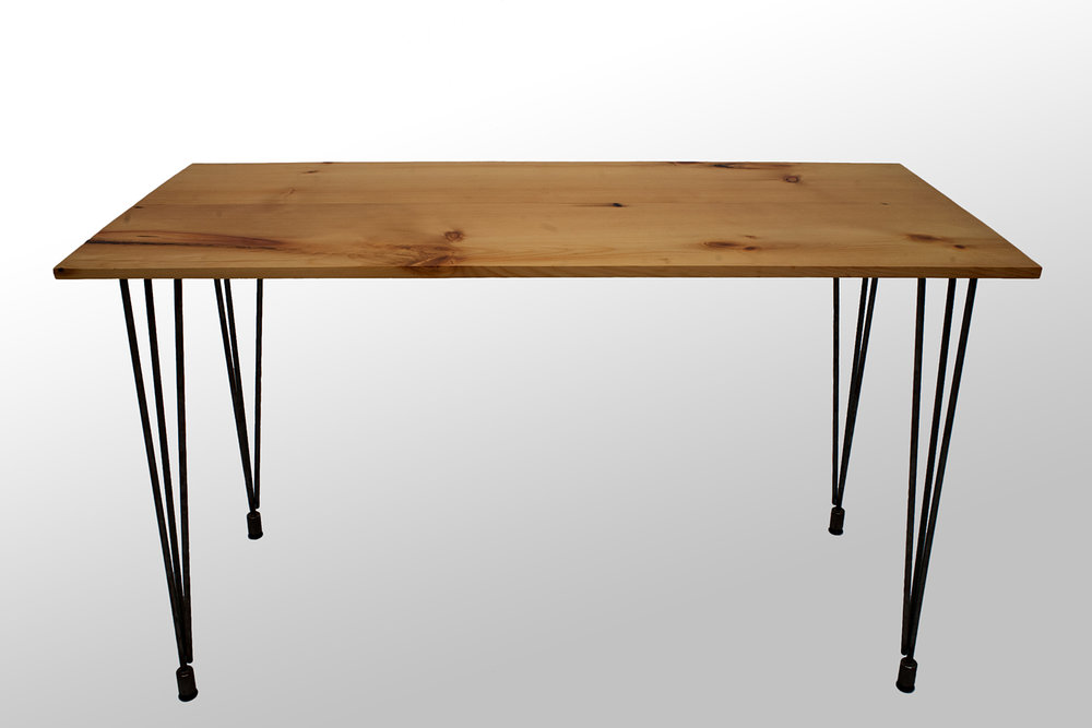 The Heller Desk: Reclaimed White Pine