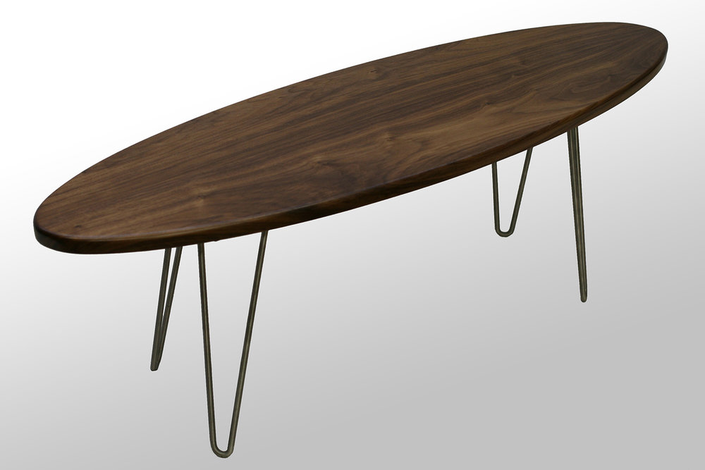 Walnut The Longboard Coffee Table