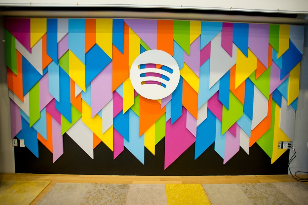 Spotify stage background