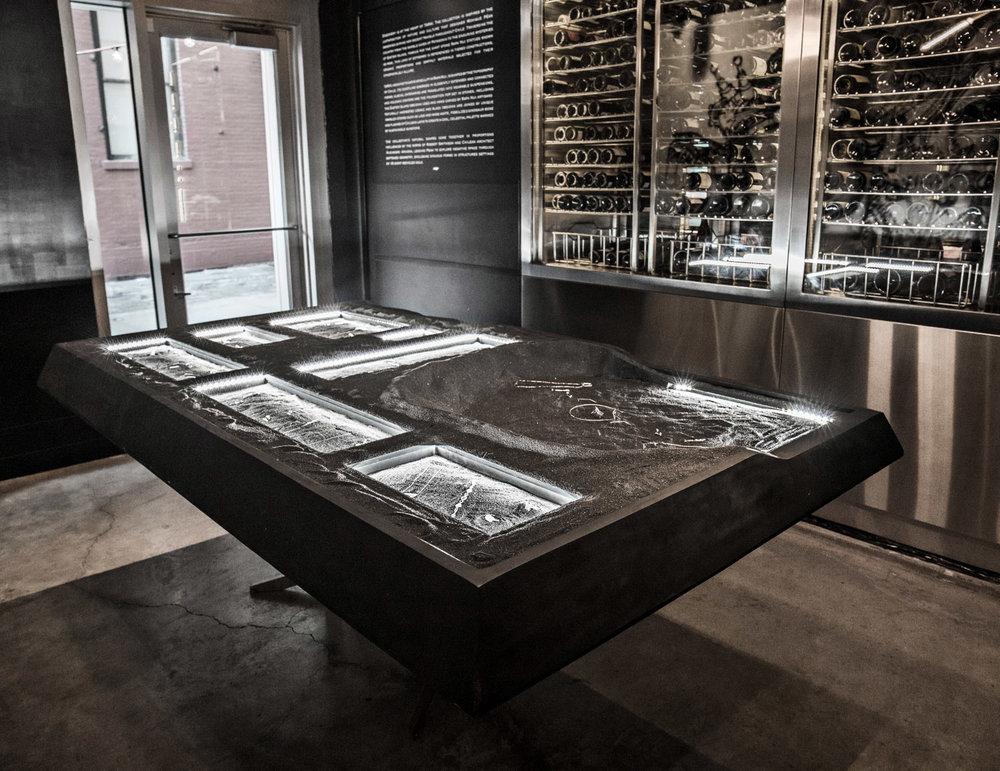 Custom jewelry table display