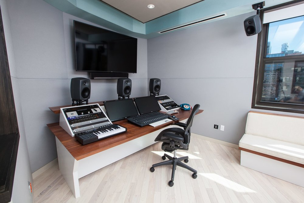 recording studio furniture grain control mid century modern