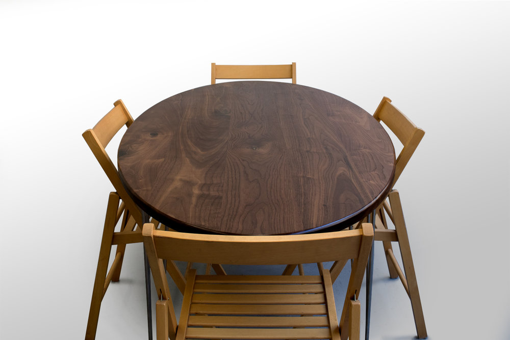 Walnut Percy Dining Table