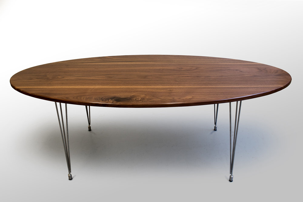 Walnut Dinning table side.jpg