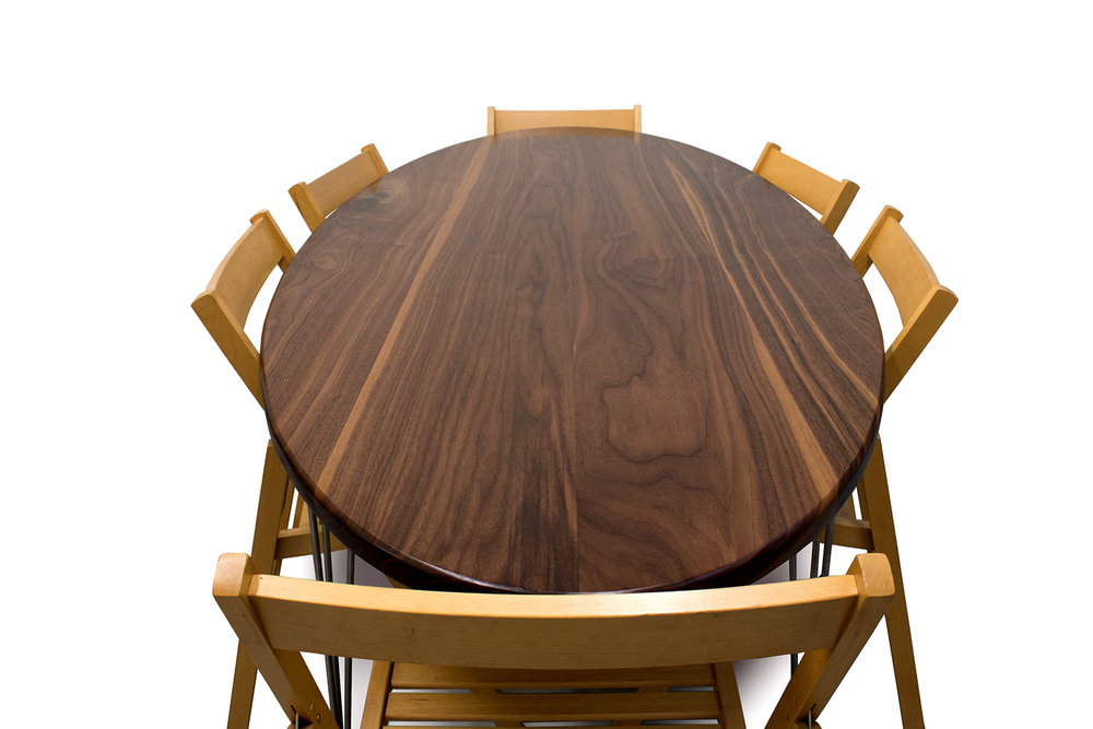 Walnut Dinning tablefront chairs.jpg