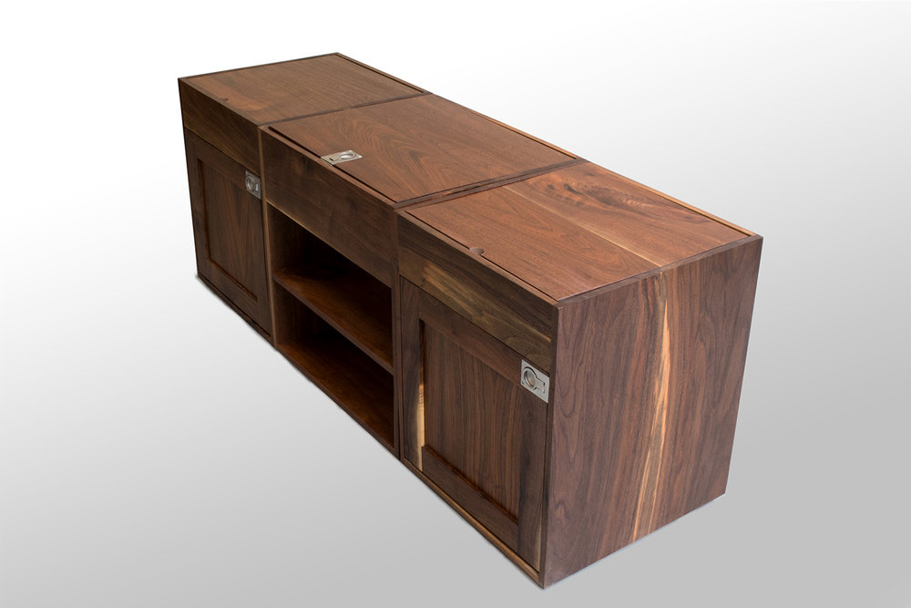 Three section Walnut coffee table corner high.jpg