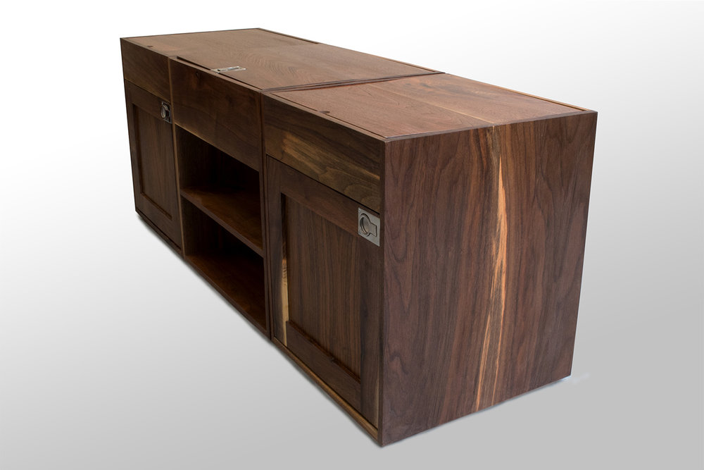 Three section Walnut coffee table corner.jpg