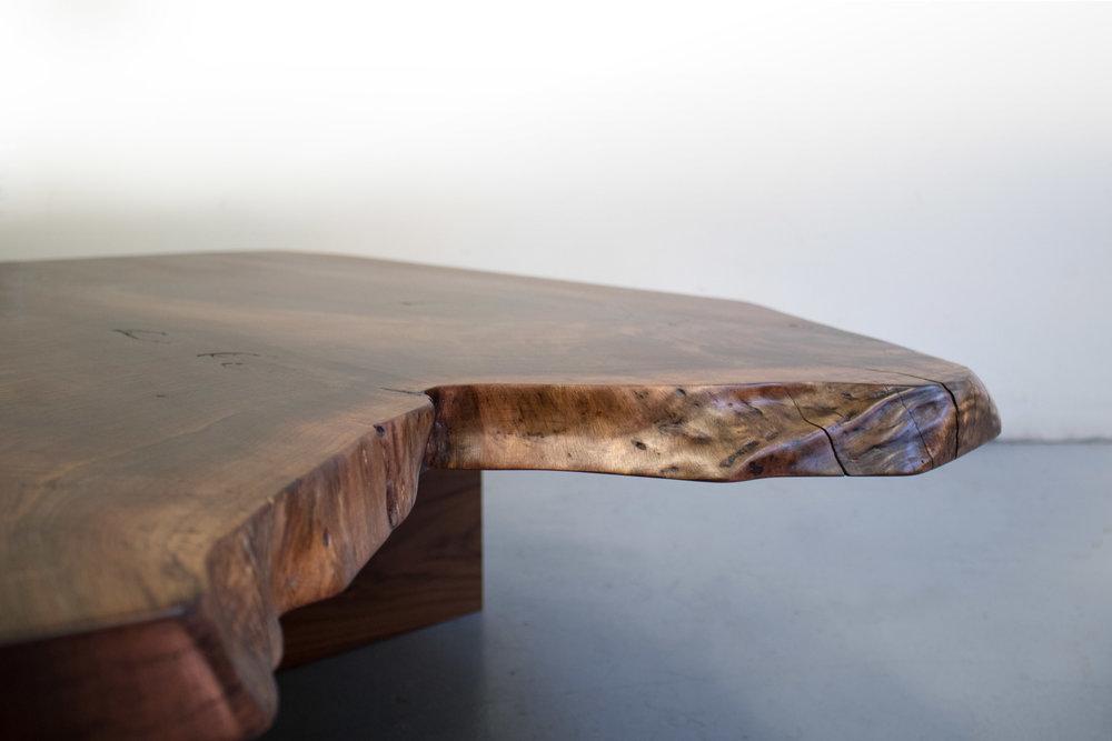 Closeup 2 live edge walnut slab coffee table.jpg