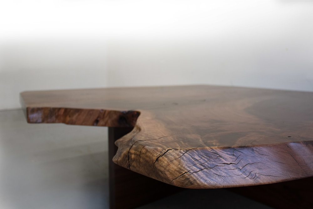 Closeup 1 live edge walnut slab coffee table.jpg