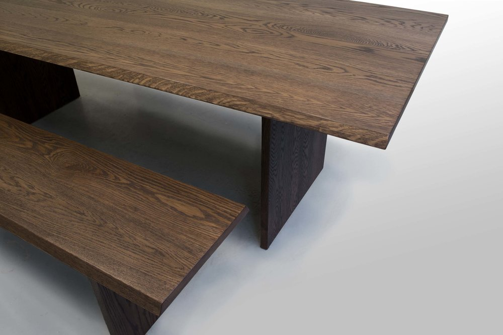 Oak Table With Benches6