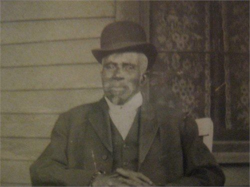 Jack Holley, Slocum Business Owner and Massacre Survivor, (The Hollie Family)