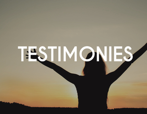 TESTIMONIES  We believe in a Good God who does only good things for His children!  Read our   page of testimonies   from members of our congregation and let your faith be inspired to believe God for your miracle!
