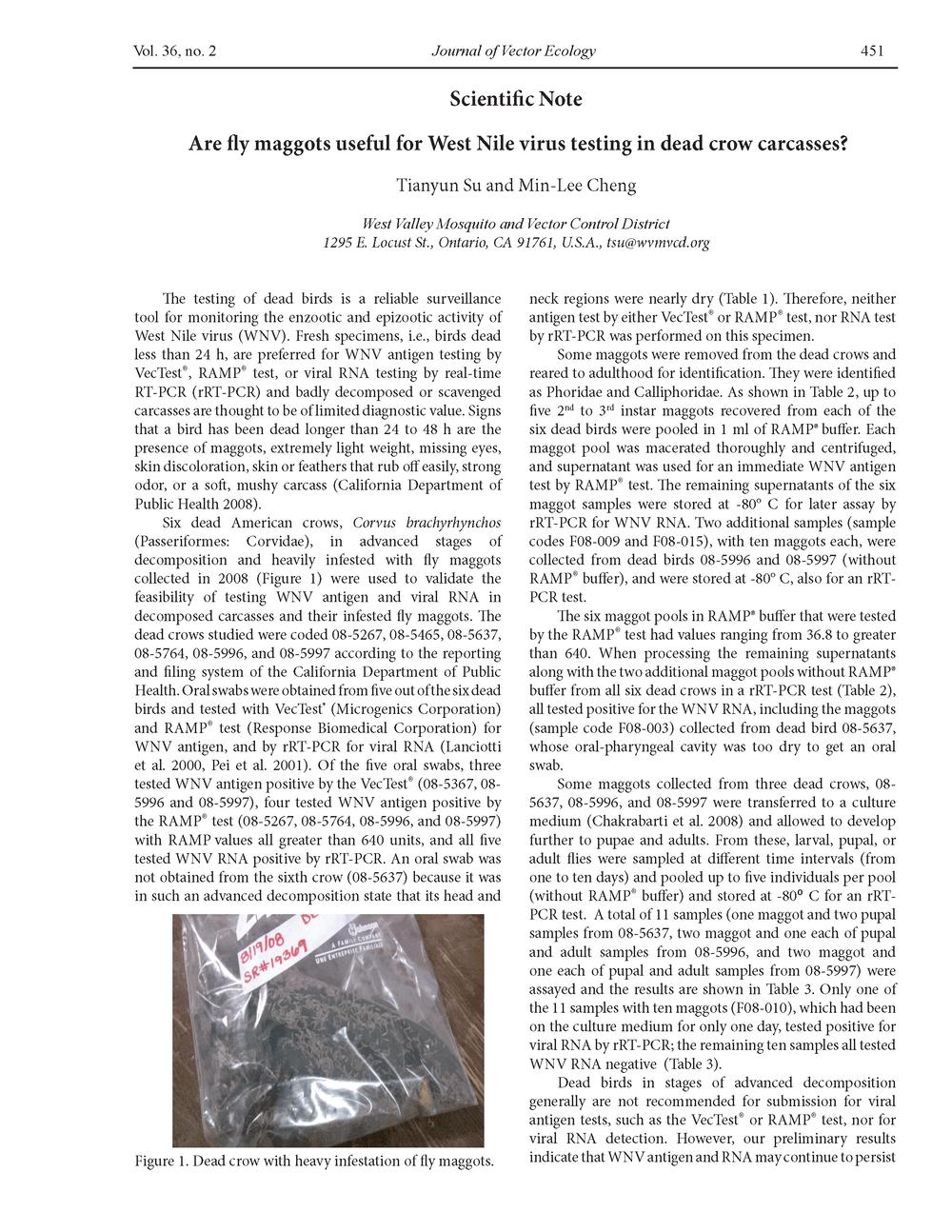 Fly maggot-WNV testing-JVE Vol. 36 PP. 451-453_Page_1.png