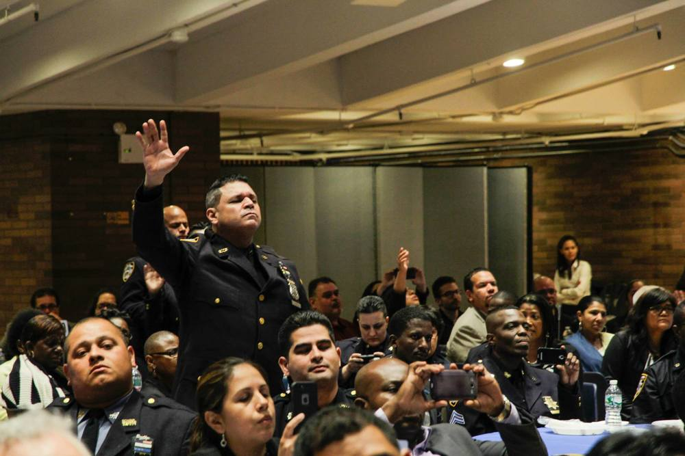 A powerful night of worship and hope for NYPD.