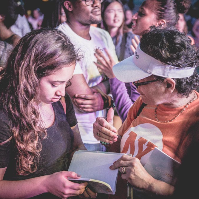 Individuals respond to the Gospel in the Bronx