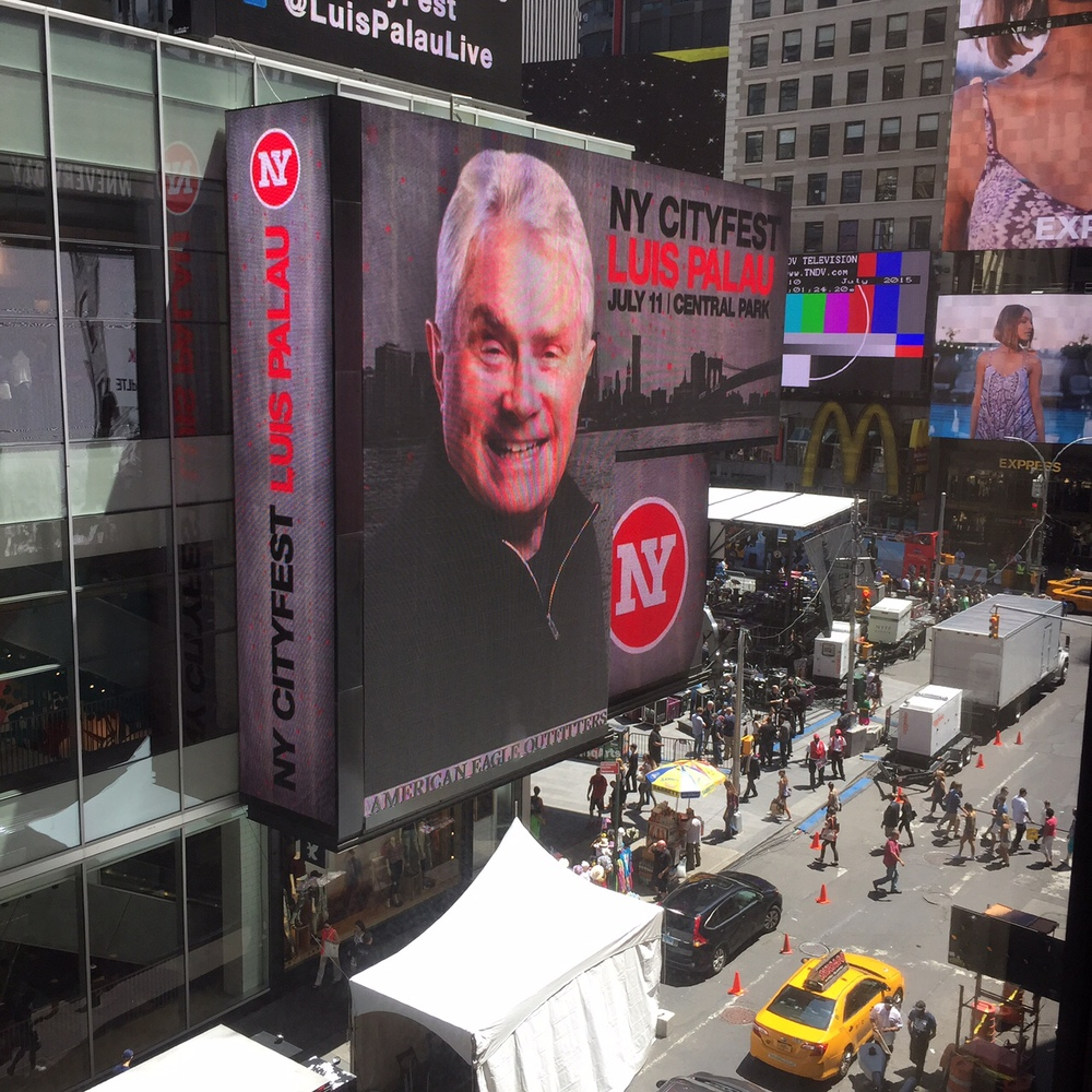 NY CityFest takes over 6 massive digital billboards in Times Square during the event.