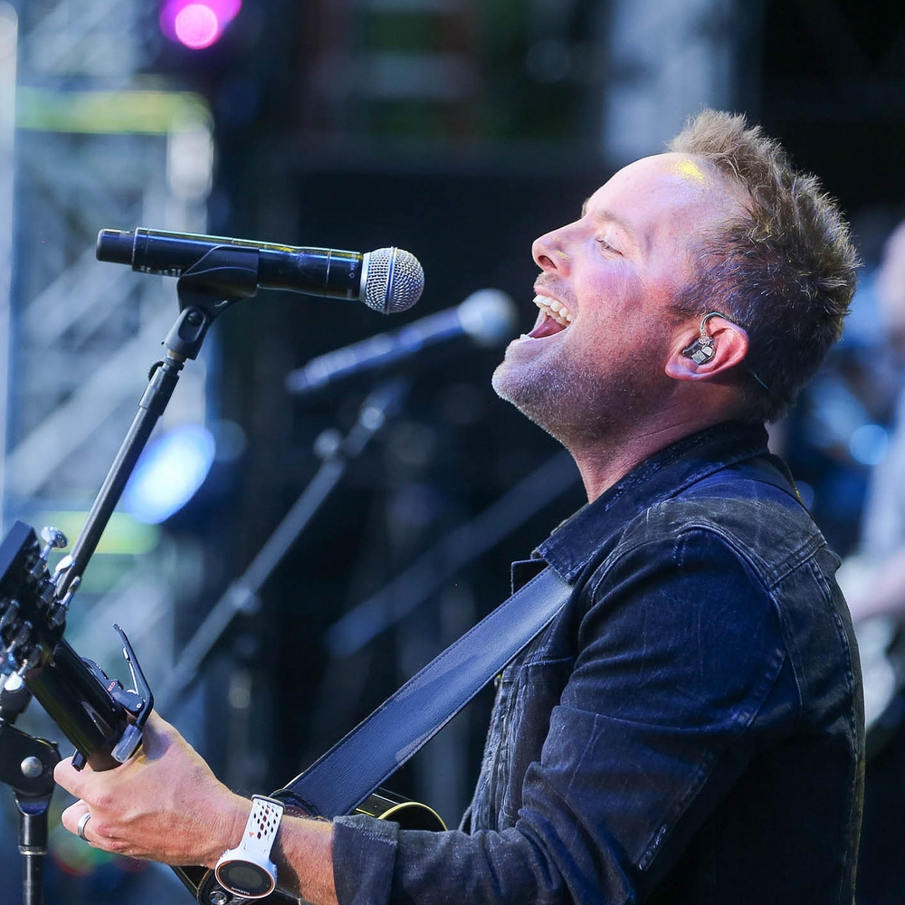 Chris Tomlin made a surprise appearance on the Great Lawn.