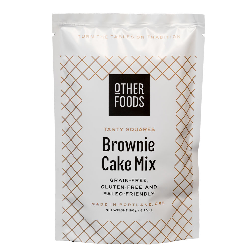 brownie packaging design