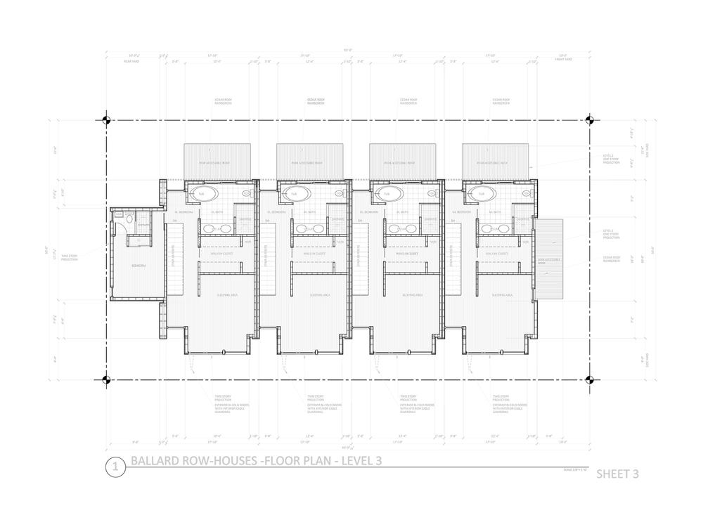 DD Set - Upper Floor Plan