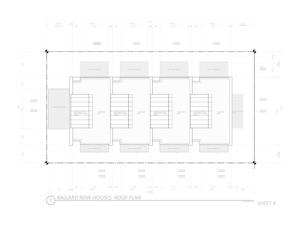 DD Set - Roof Plan