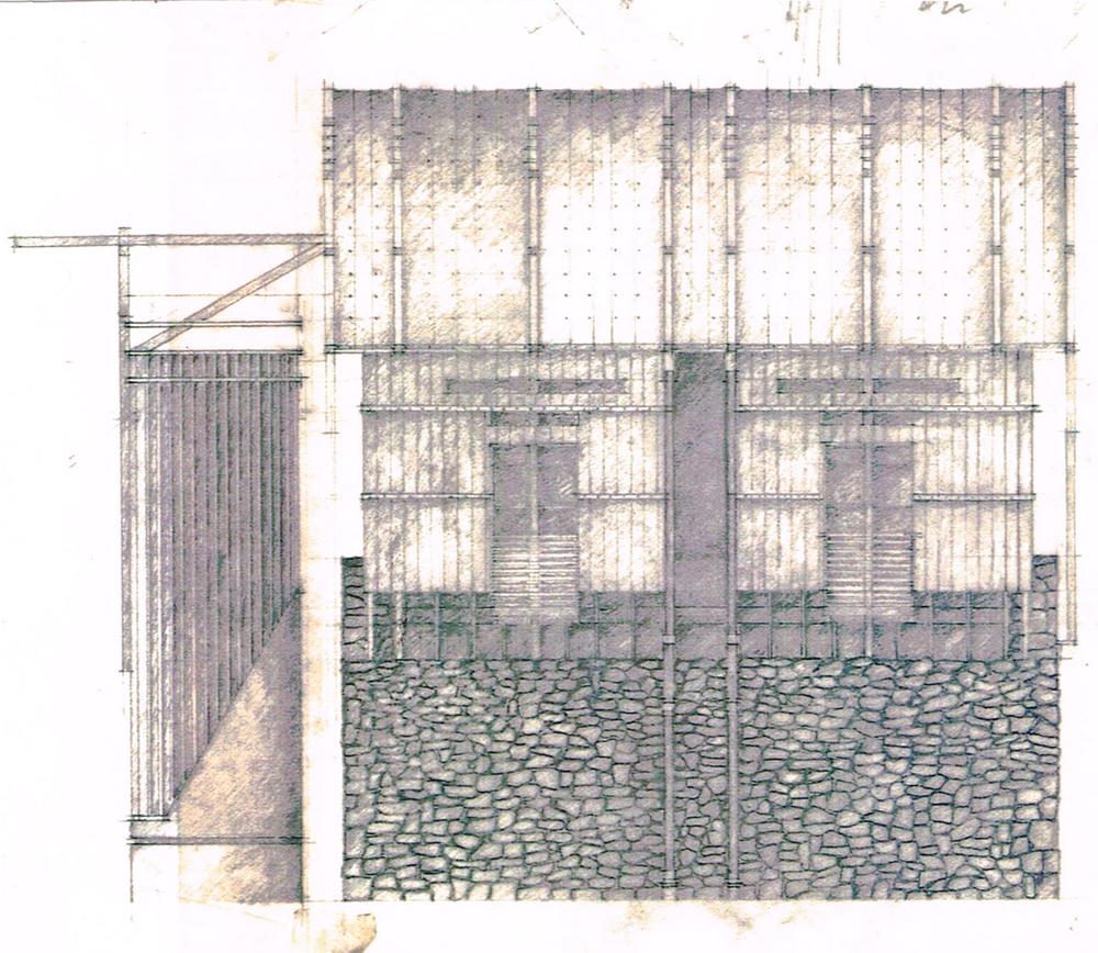 South Elevation Sketch