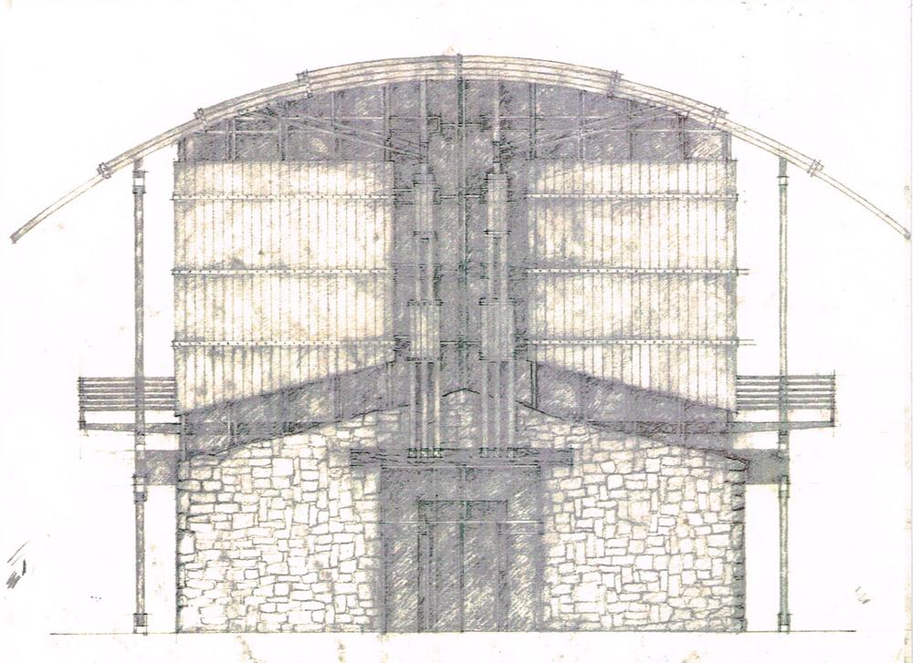 East Elevation Sketch