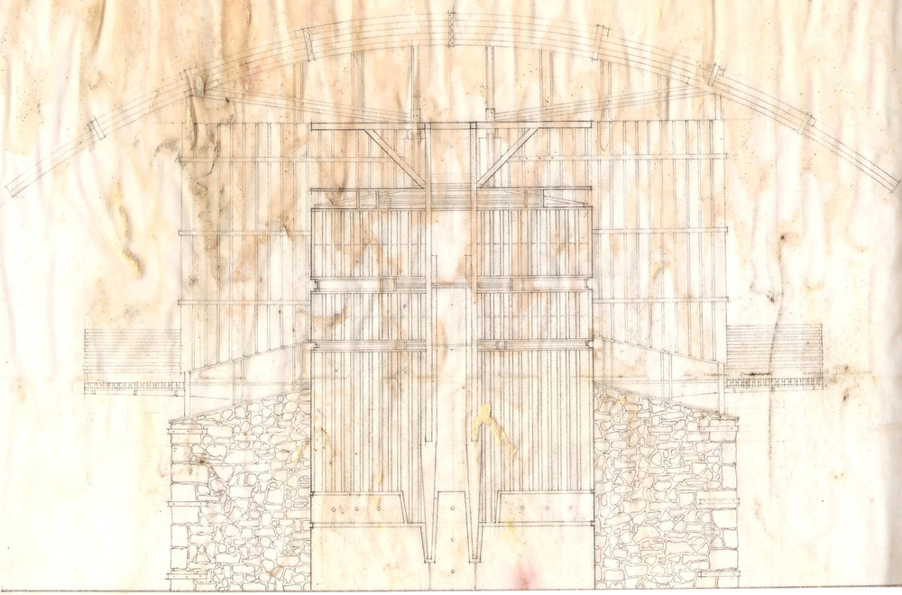 North Elevation Line Drawing