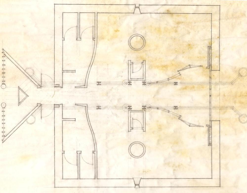 Floor Plan Line Drawing