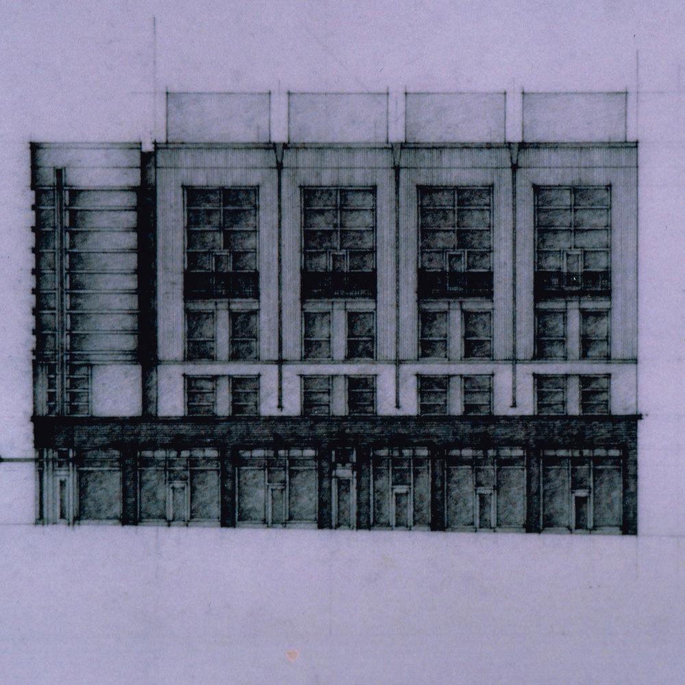 North Elevation Sketch