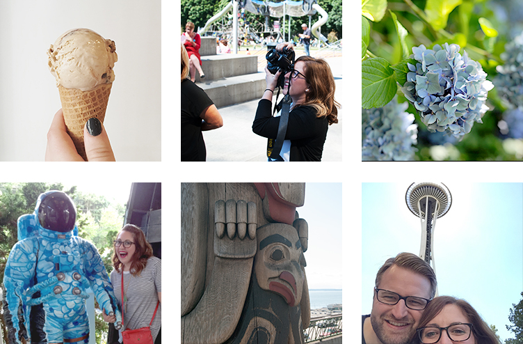 Coffee ice cream, street photography, hidden gardens, moon men, totem poles and The Space Needle!
