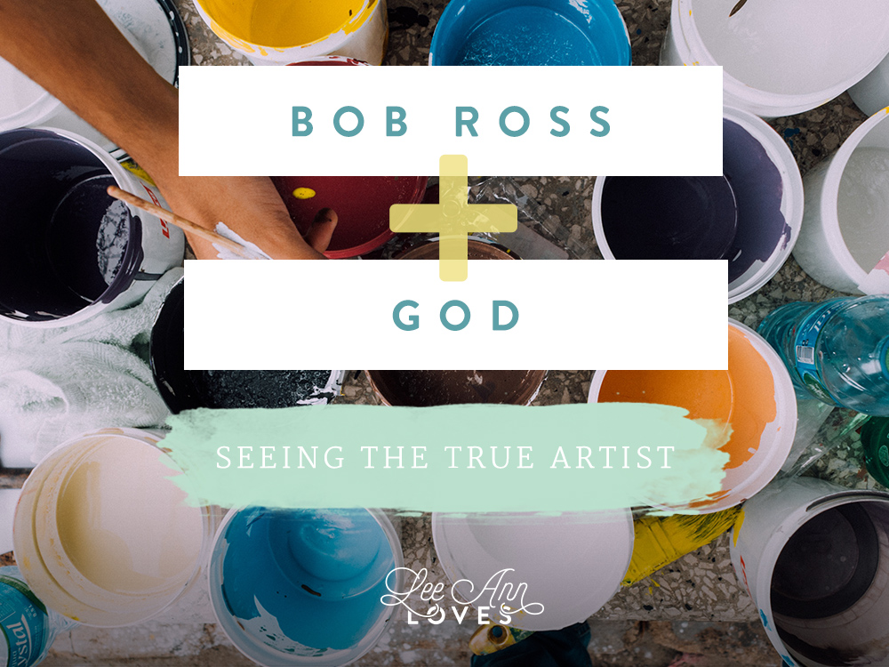 Bob Ross and God