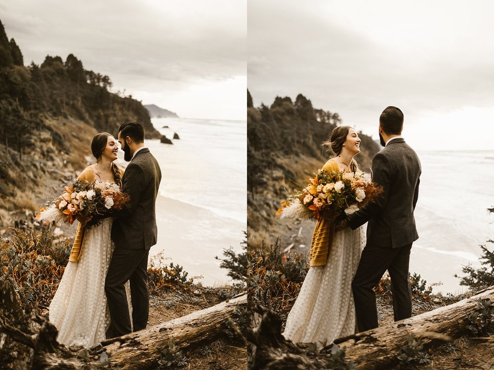 Cannon Beach Portland Wedding Photographer