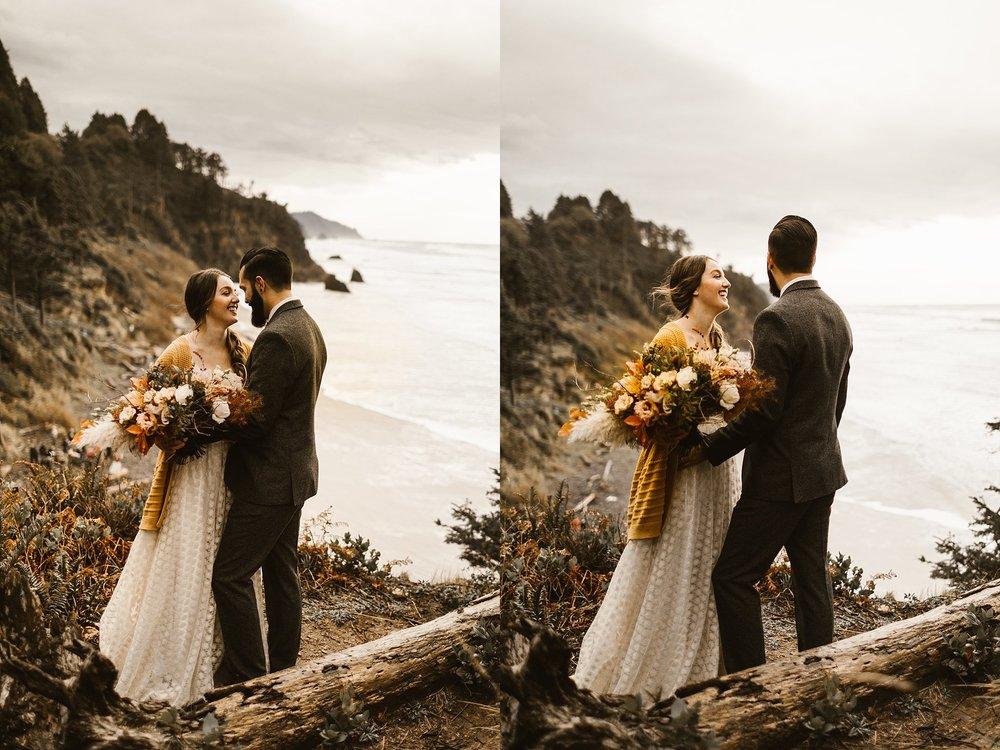 Cannon Beach Portland Wedding Photographer