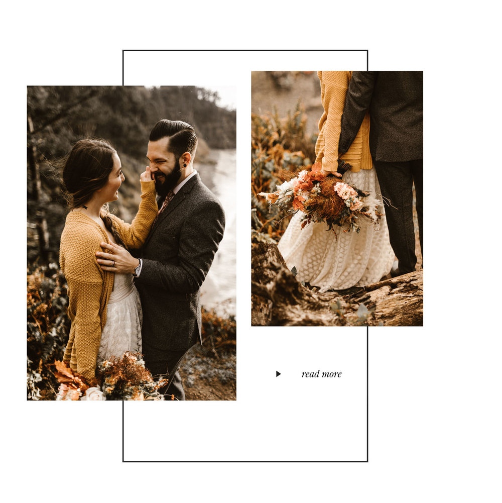 Hug Point Portland Elopement