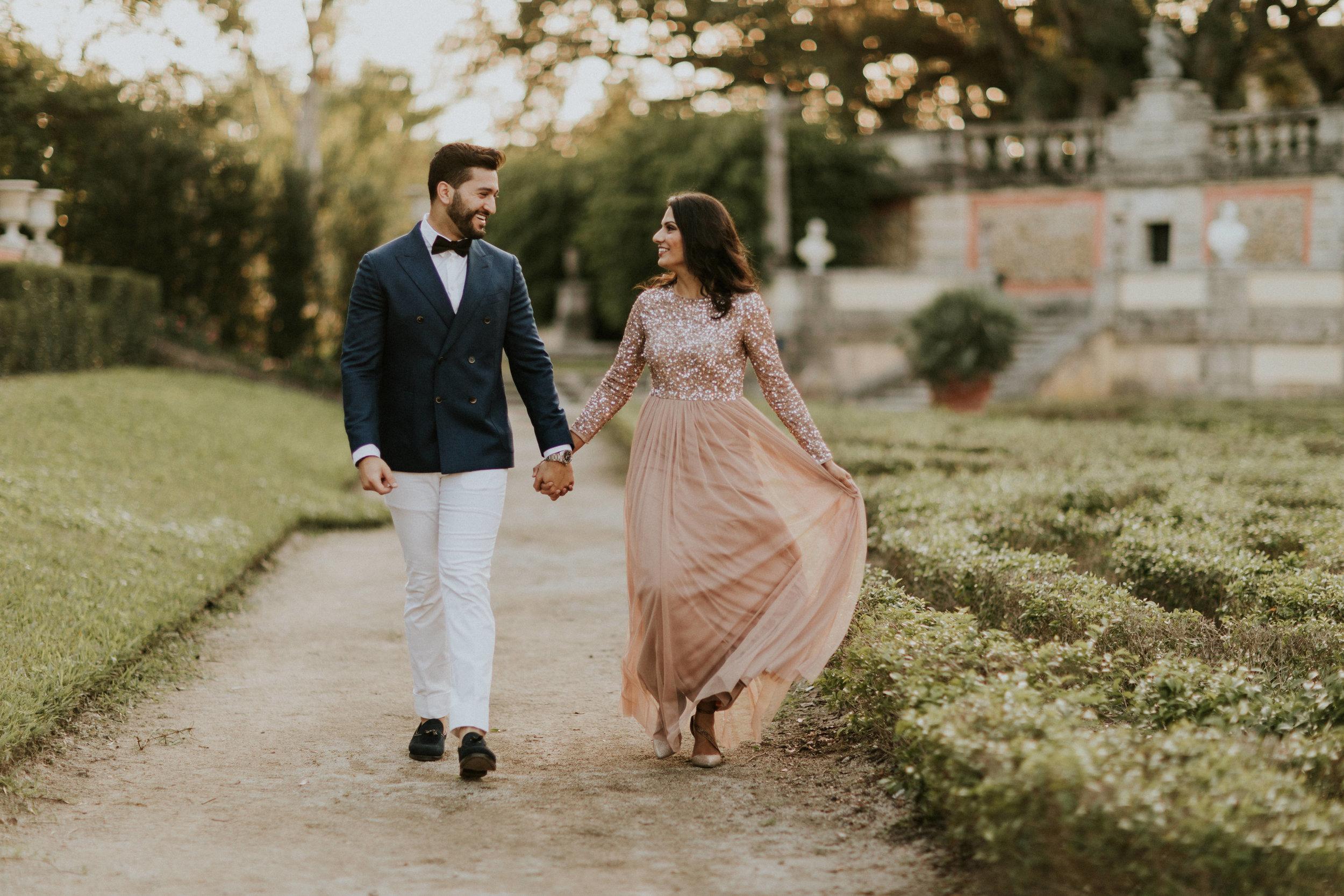 Aisha & Raheel // Vizcaya Engagement
