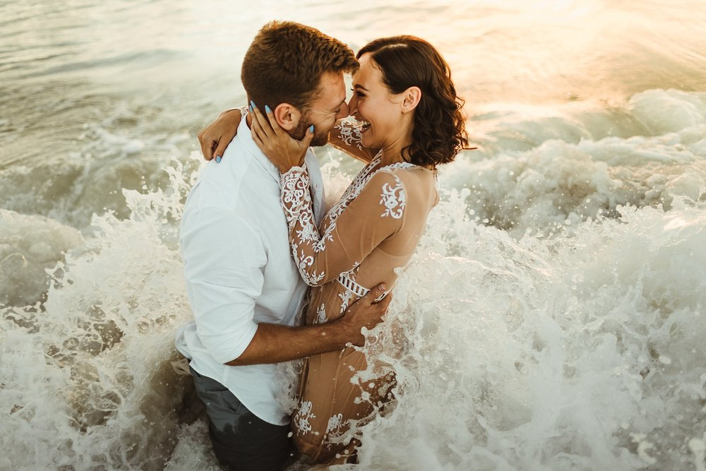 St. Pete Beach, Tampa Elopement Intimate Engagement Coastal Wedding-14.jpg