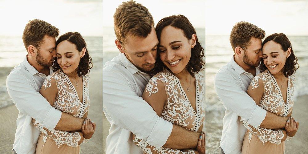 St. Pete Beach, Tampa Elopement Intimate Engagement Coastal Wedding-4.jpg