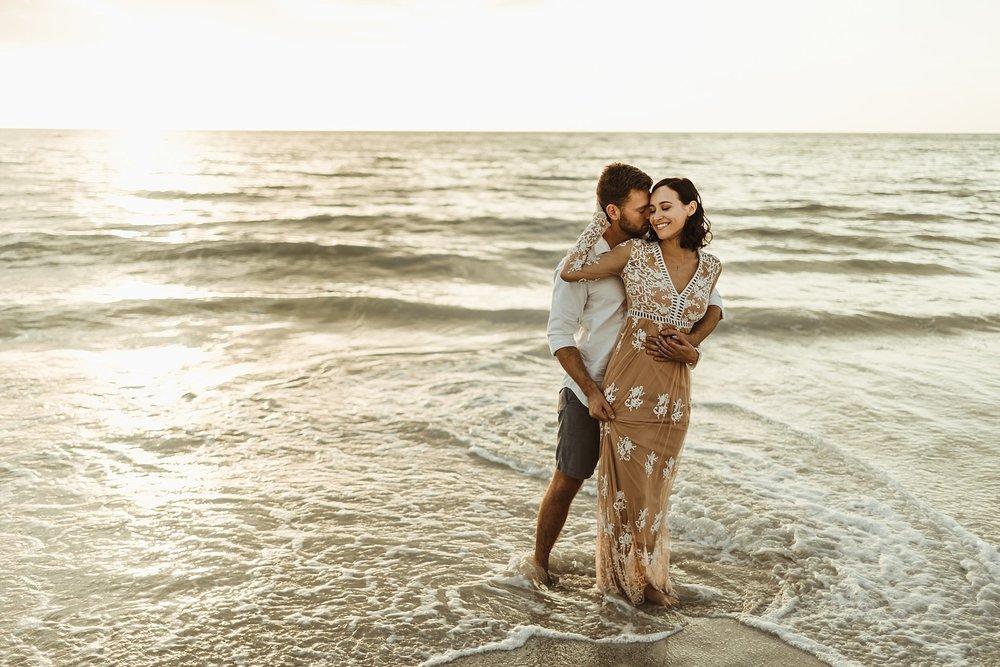St. Pete Beach, Tampa Elopement Intimate Engagement Coastal Wedding-5.jpg