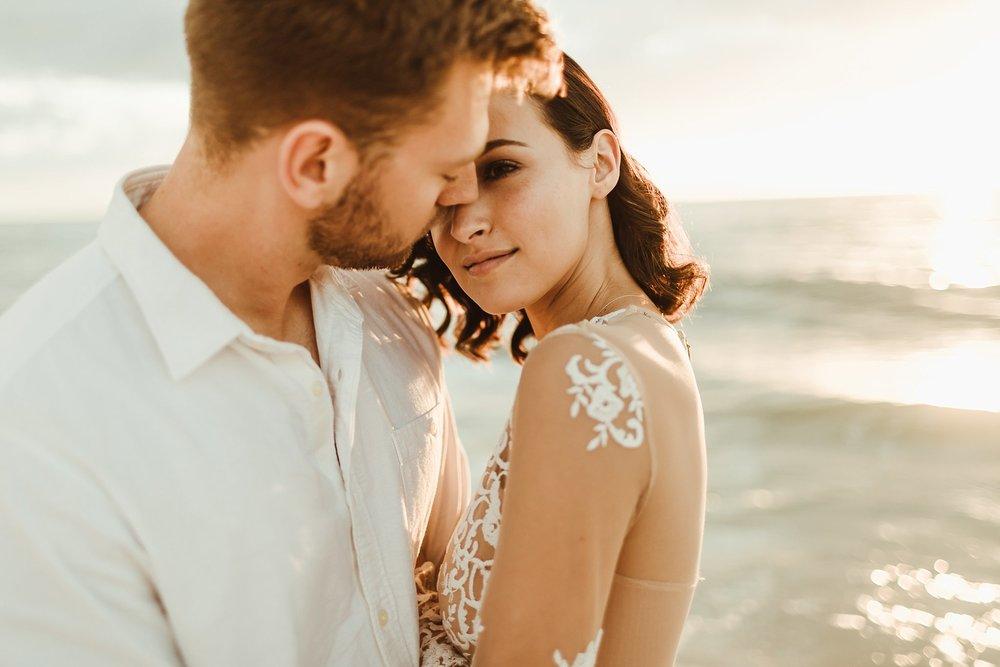 St. Pete Beach, Tampa Elopement Intimate Engagement Coastal Wedding-9.jpg