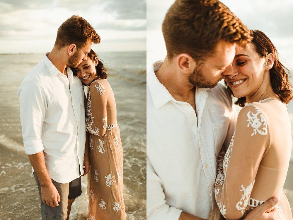 St. Pete Beach, Tampa Elopement Intimate Engagement Coastal Wedding-8.jpg