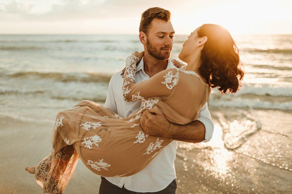 St. Pete Beach, Tampa Elopement Intimate Engagement Coastal Wedding-12.jpg