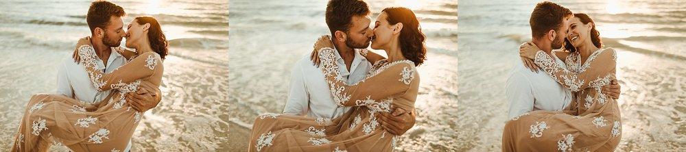 St. Pete Beach, Tampa Elopement Intimate Engagement Coastal Wedding-13.jpg