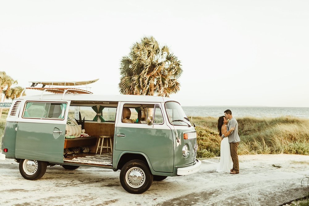 Volkswagen Vow Renewal in Mexico Beach Florida