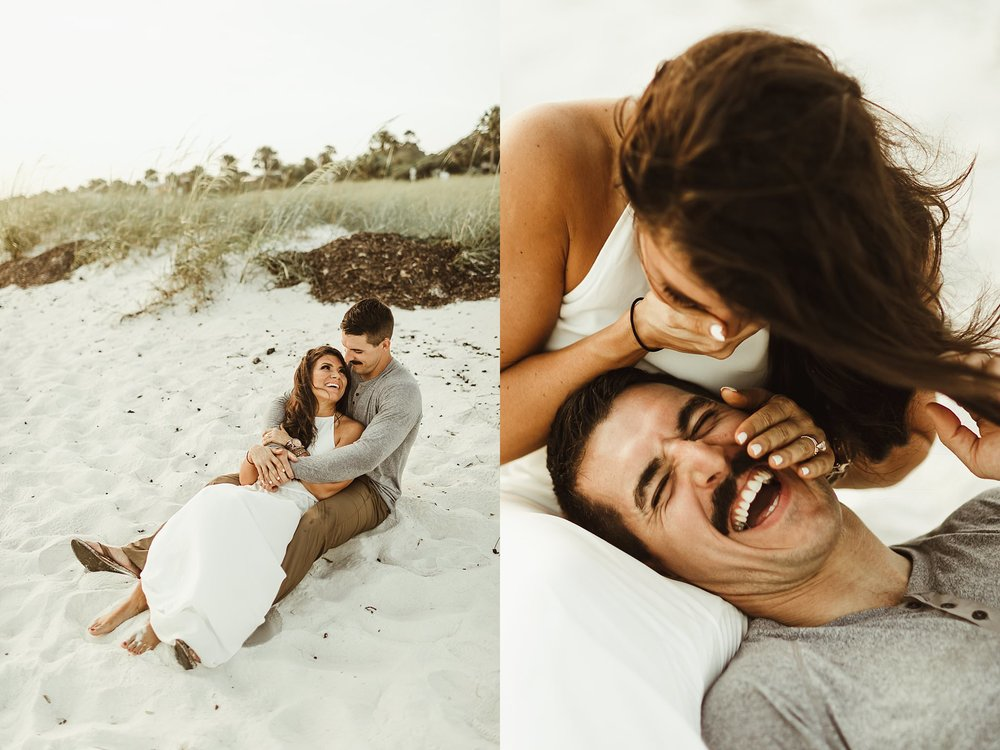Beach wedding photos in Florida