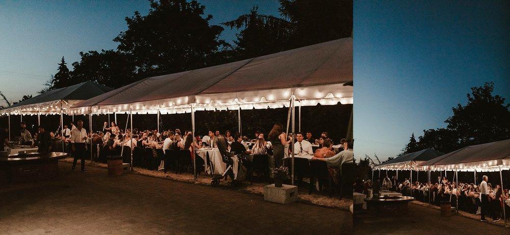 Ken+Wright+Cellar+Carlton+Oregon+Wedding+Portland+Night+Reception